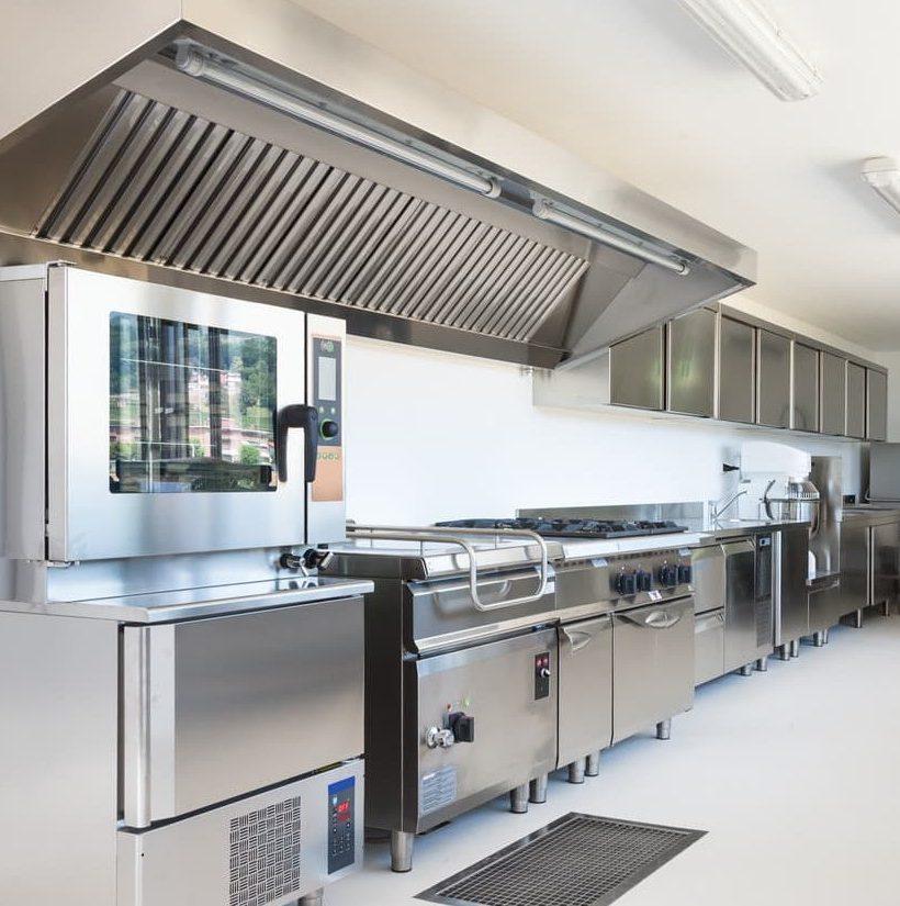 Cocina Industrial en Acero Inoxidable