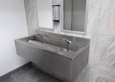 Lavamanos de Acero Inoxidable para Baño