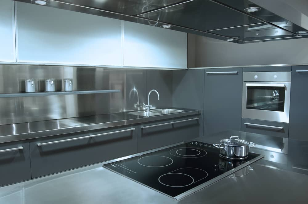 Casa Cocina De Acero Inoxidable