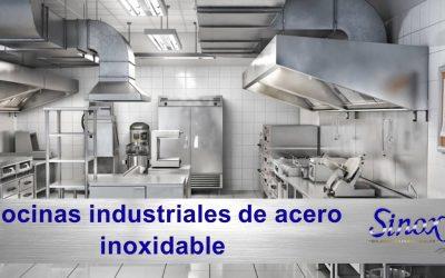 Ventajas de las cocinas industriales de acero inoxidable