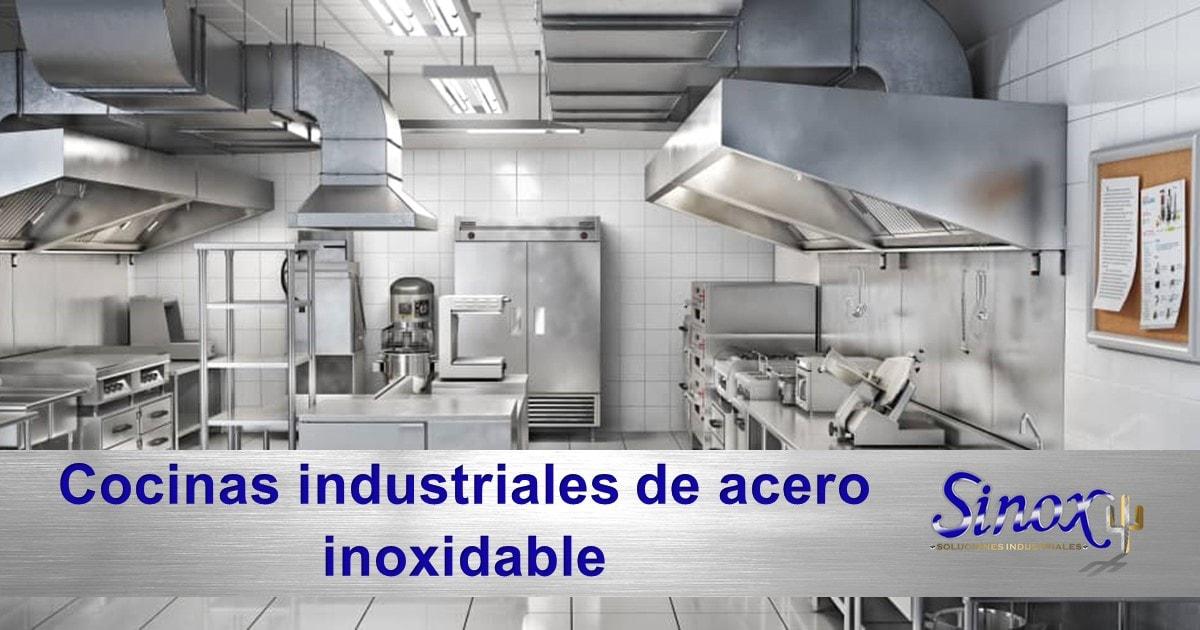 Portada Cocinas Industriales De Acero Inoxidable