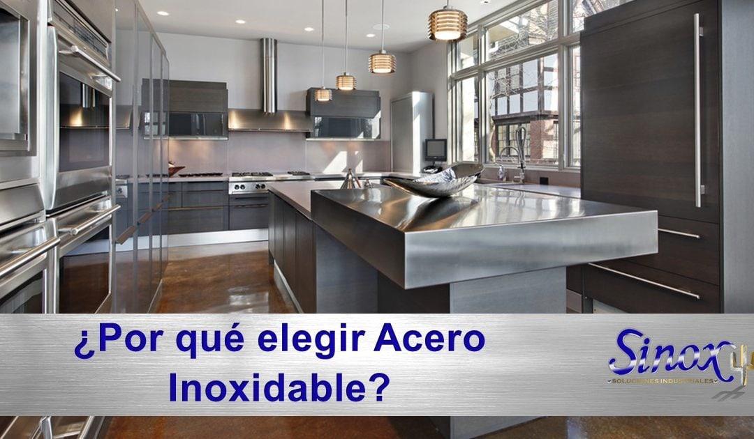 ¿Por qué elegir mobiliario de acero inoxidable?