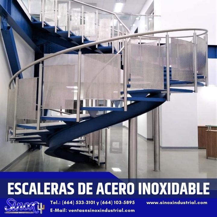Producto Escaleras De Acero Inoxidable