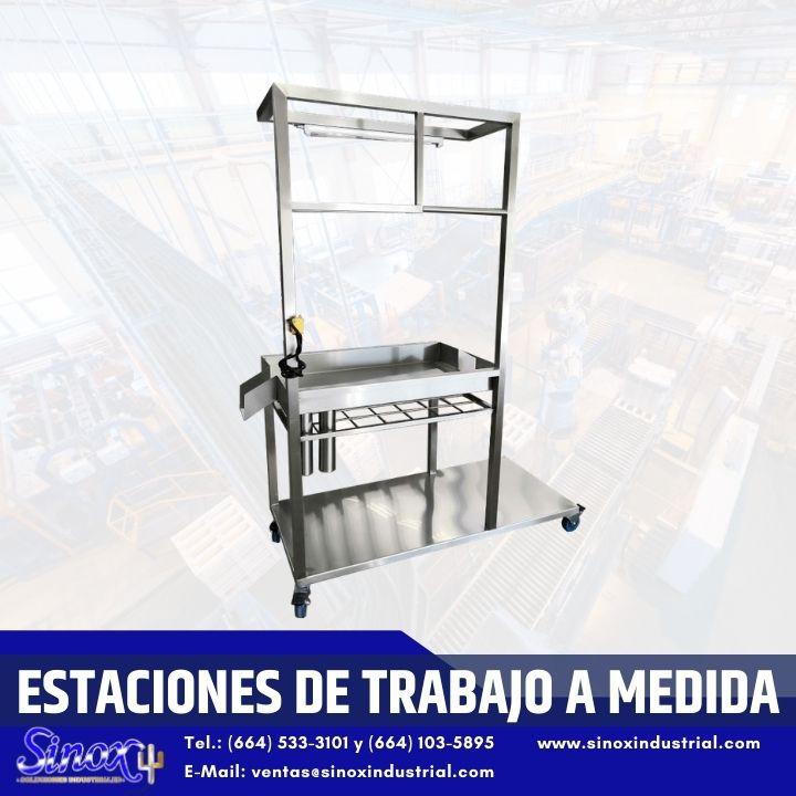 Producto Estaciones De Trabajo A Medida En Acero Inoxidable