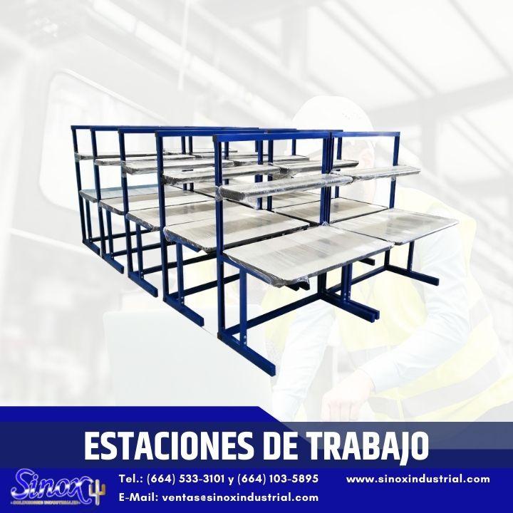 Producto Estaciones De Trabajo Con Estructura De Acero Inoxidable