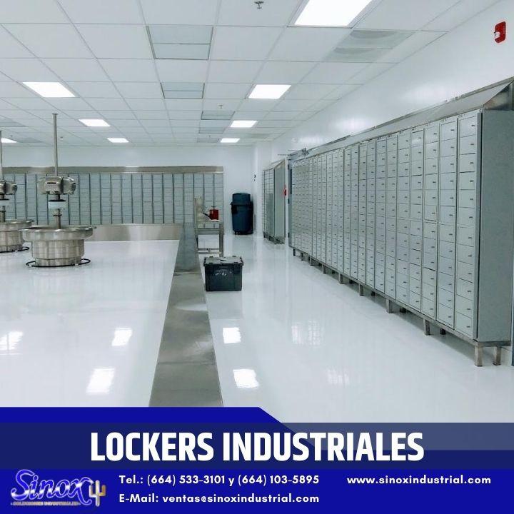 Producto Lockers Industriales De Acero Inoxidable