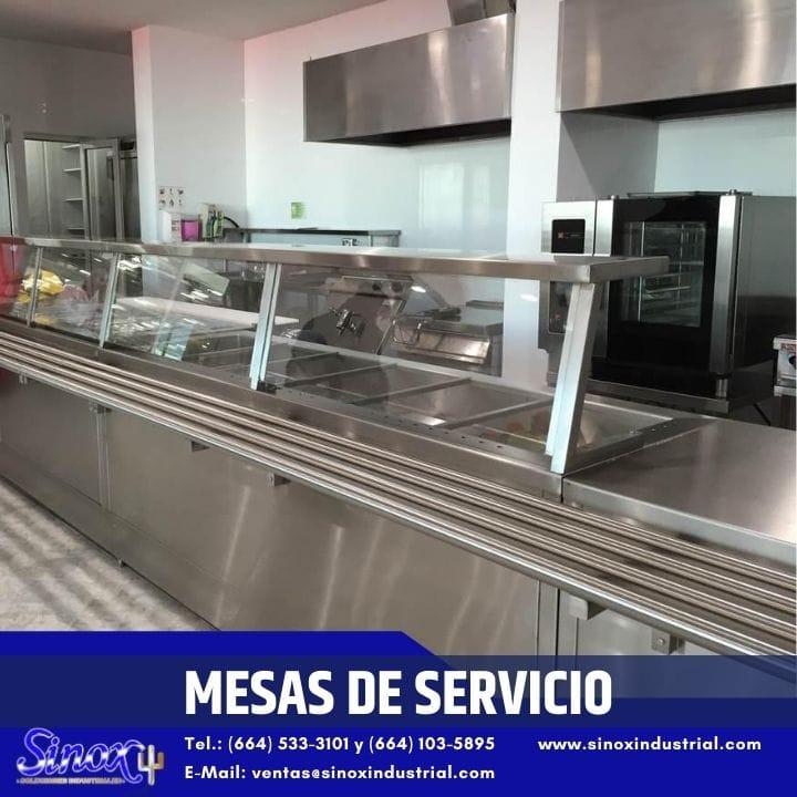 Producto Mesas De Servicio En Acero Inoxidable Para Restaurant