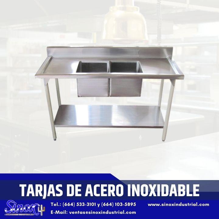 Producto Tarjas De Acero Inoxidable Doble