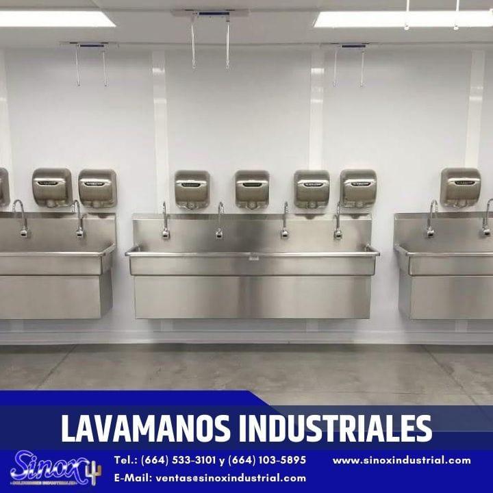 Producto Lavamanos Industriales De Acero Inoxidable