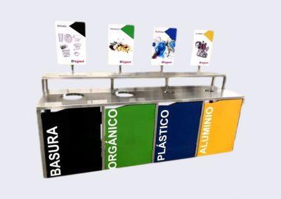 Estación de reciclado