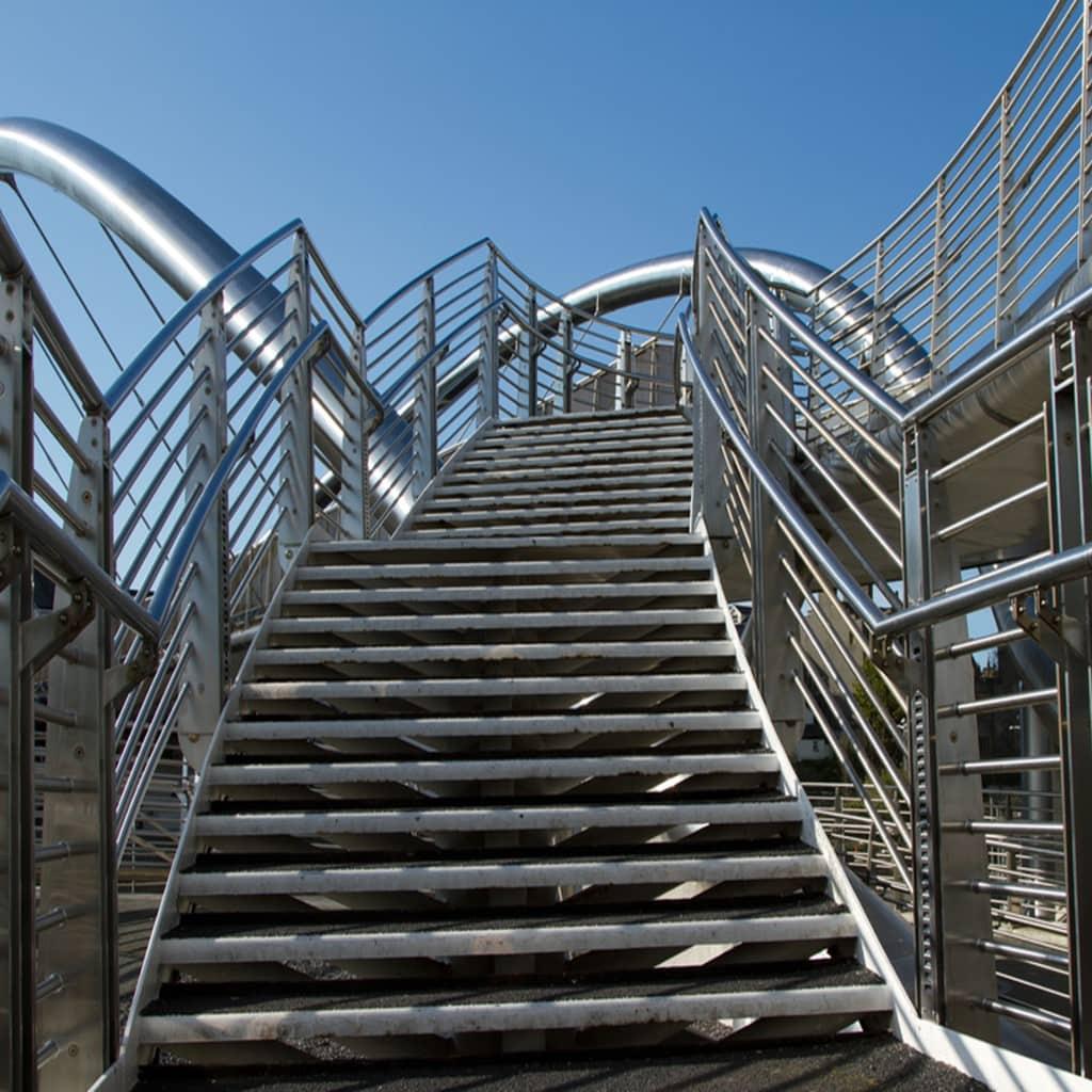 Escalera De Acero Inoxidable 2