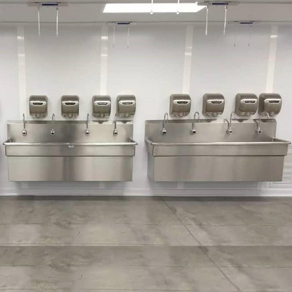 Lavamanos De Acero Inoxidable Sinox Industrial