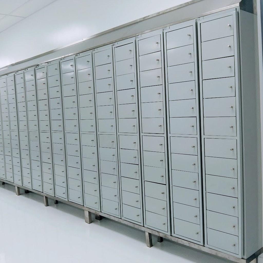 Lockers De Acero Inoxidable Sinox Industrial 2